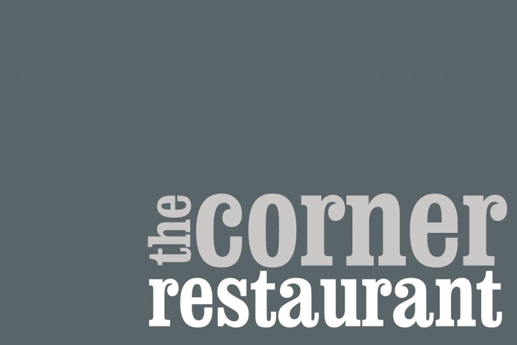 Tidal Studios | Branding & Logo Design | The Corner Restaurant