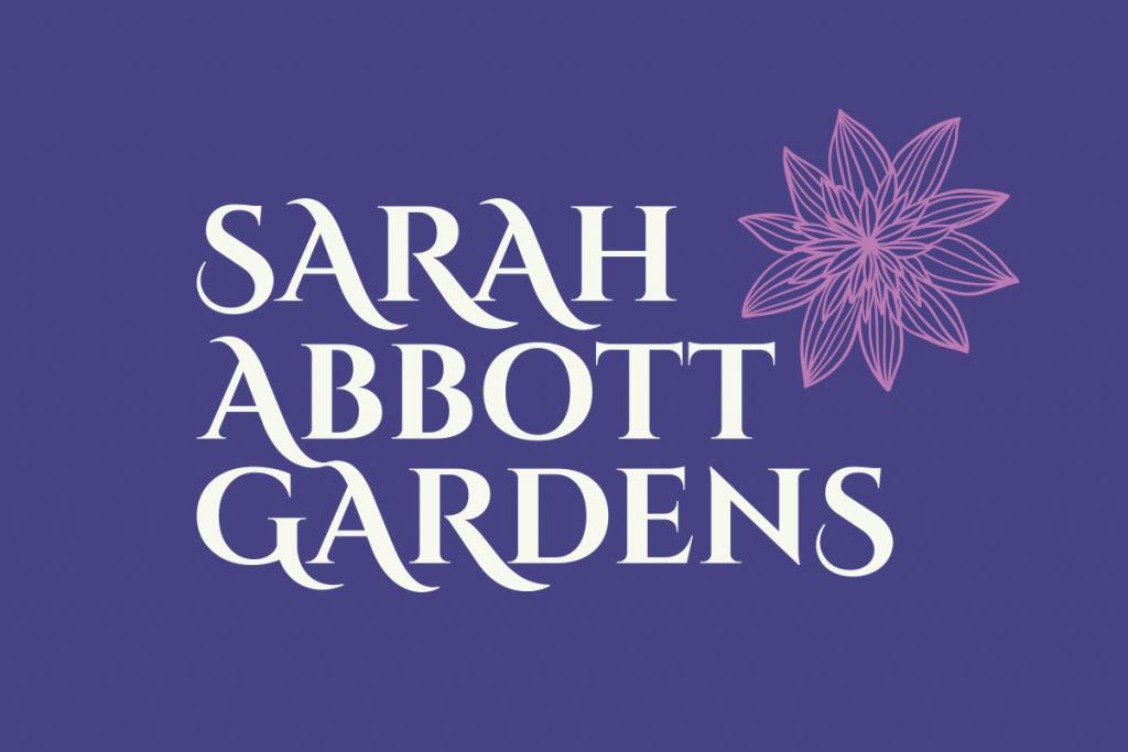 Tidal Studios | Branding & Logo Design | Sarah Abbott Gardens