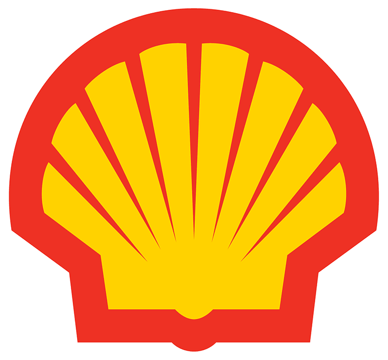 The original Shell logo appeared in 1904 but it's current format - conceived by Raymond Loewy of Coca-Cola bottle design - dates back to 1971.