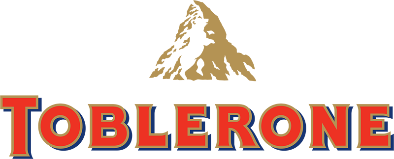 The Toblerone logo not only has an image of the Matterhorn, reflecting the chocolate's Swiss origins, but also a 'hidden' bear, the symbol of the manufacturer's home town.