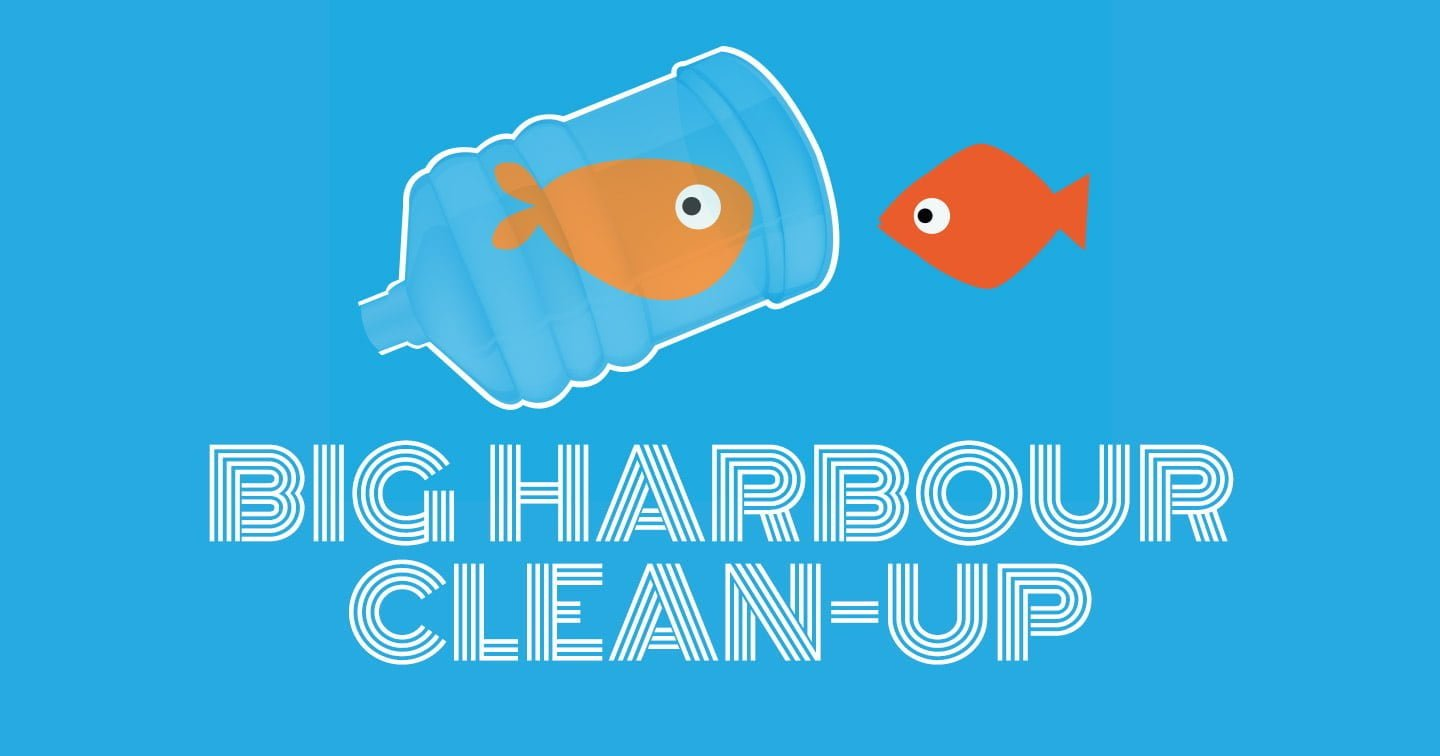 Tidal Studios supports the Big Harbour Clean-Up