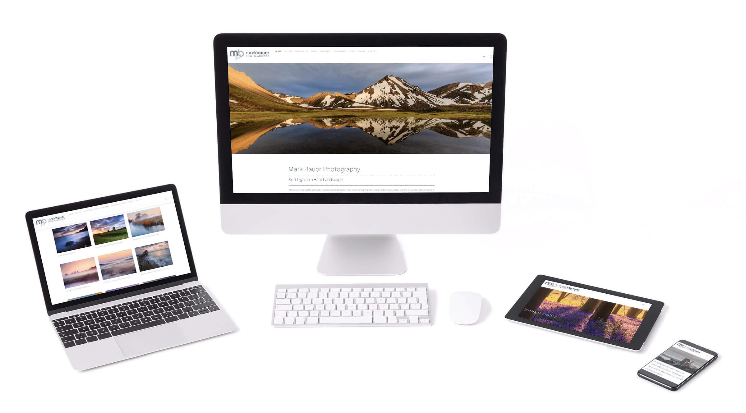 Tidal Studios   Mark Bauer Photography website design
