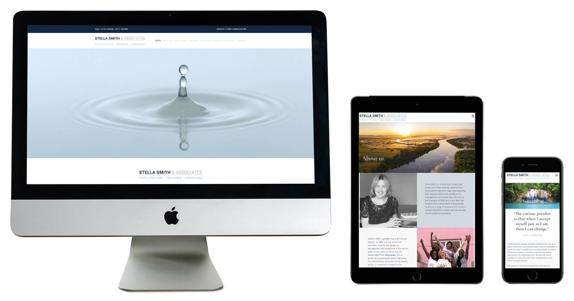 Tidal Studios | Stella Smith & Associates web design