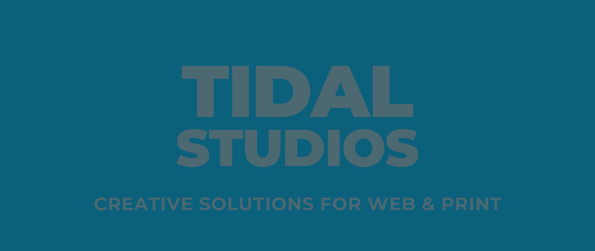 Tidal Studios - Creative Web Design & Print Solutions