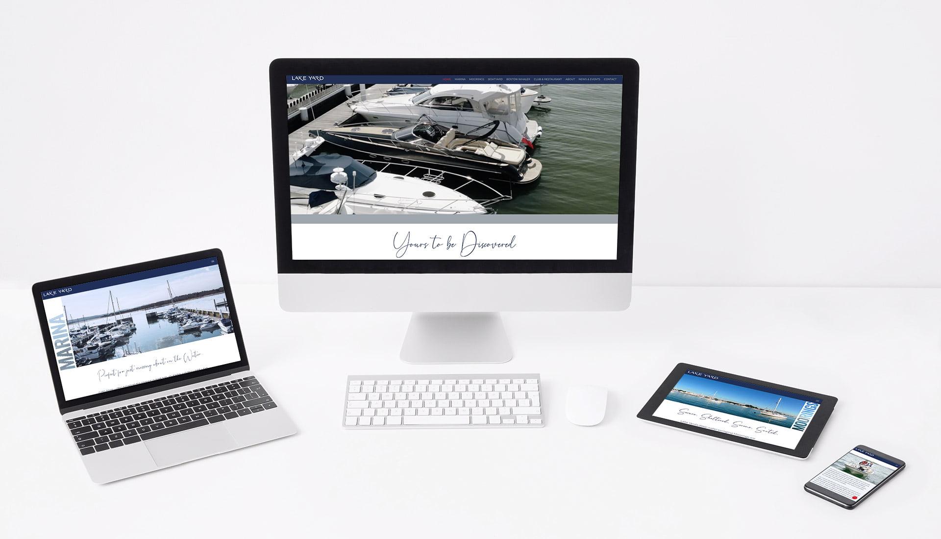 Tidal Studios | Lakeyard website design
