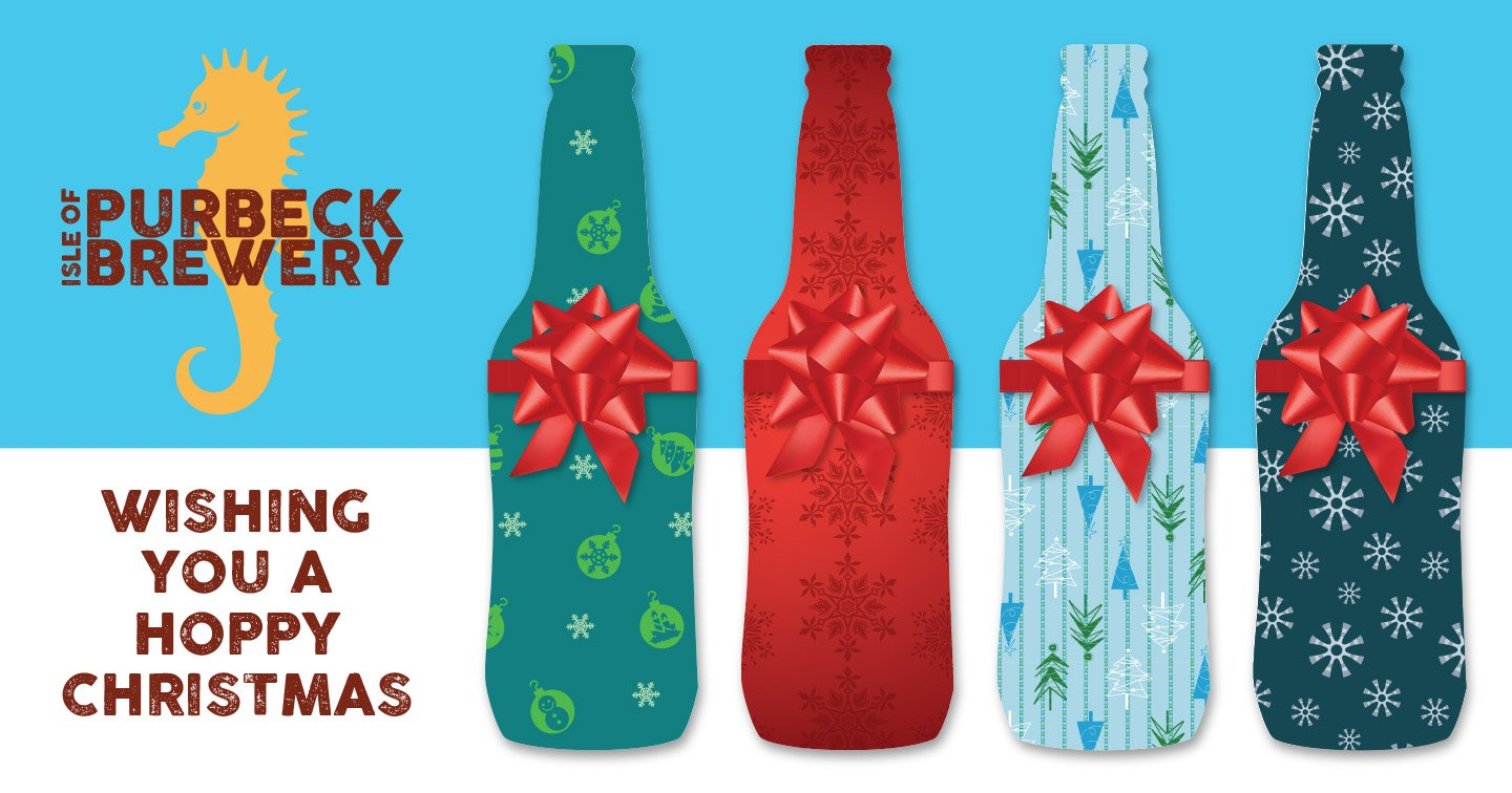 Tidal Studios created a Facebook image and post to advertise the Isle of Purbeck Brewery's Christmas discount offer.